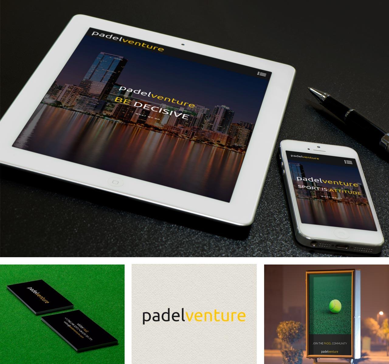 padelventure desarrollo web