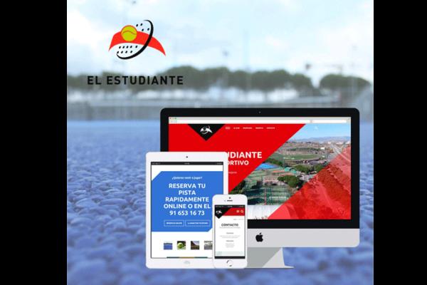 La página web de El Estudiante
